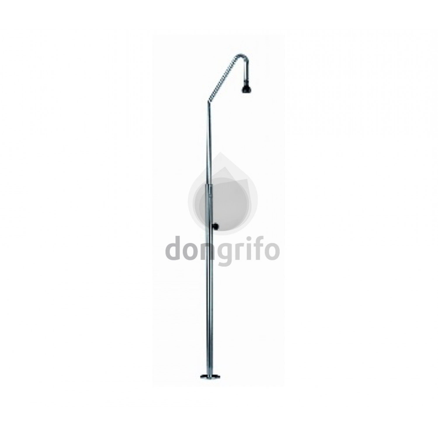Ducha piscina coral acero inox aisi 304 12001161 for Ducha piscina pared