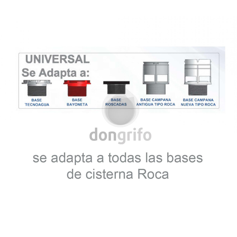 Mecanismo Universal De Descarga Con Pulsador Tecnoagua T 280s