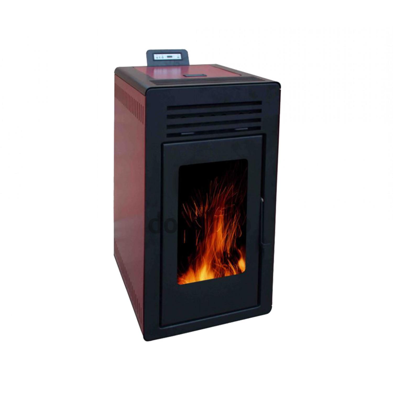 Estufa de aire pellet fogum argenta 10kw - Estufas de aire de pellets ...