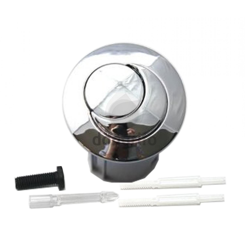 Conjunto pulsador corto varilla roscable para doble for Arreglar cisterna roca doble pulsador