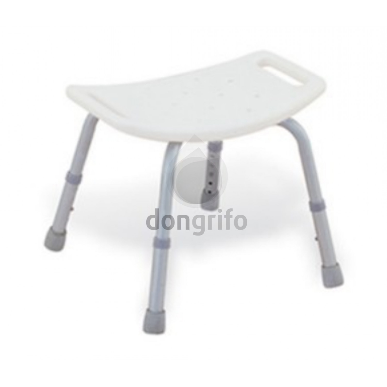 Taburete silla de ba o ducha sin respaldo fabricada en acero - Silla sin respaldo ...