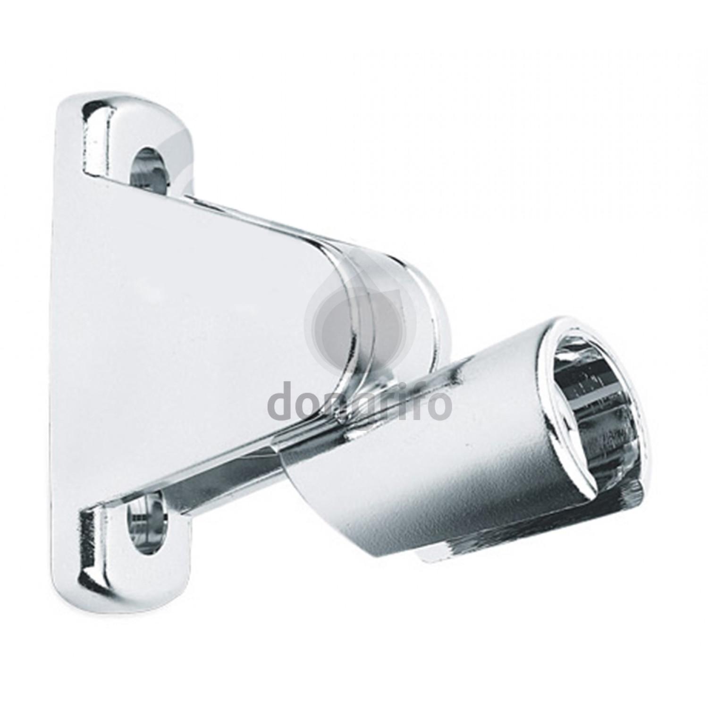 soporte ducha articulado cromo hotel tres qbano