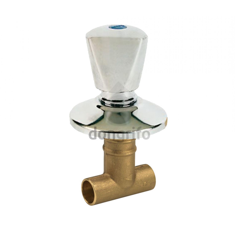 Llave empotrar soldar unicap standar hidraulica for Cambiar llave de paso empotrada