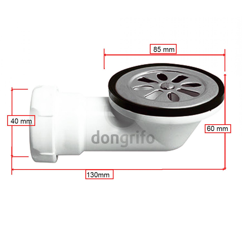Valvula desague plato ducha horizontal diametro 85 for Valvula plato de ducha