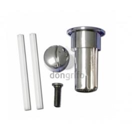 Conjunto pulsador largo varilla recortable para doble for Arreglar cisterna roca doble pulsador