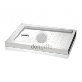 Plato ducha acrilica cuadrado duplach basic resina acrilica for Plato ducha acrilico