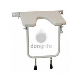 Silla de pared abatible para ducha for Sillas para ducha plegables